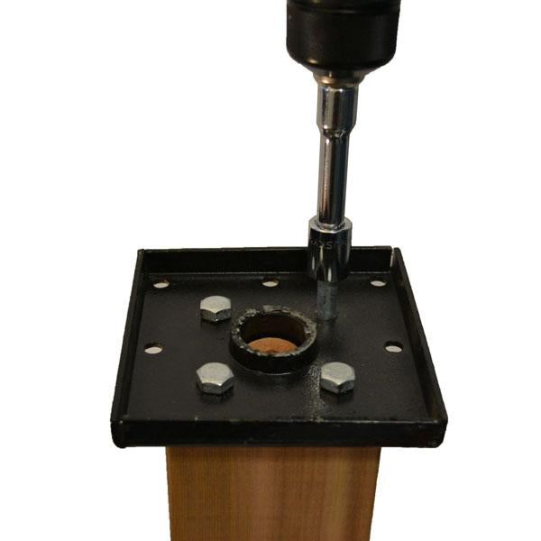 Scratch 'n Dent Titan Wood Post Anchor-Single