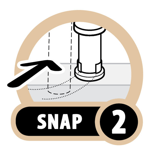 Snap'n Lock® Baluster Connectors Round 20 Pack