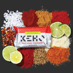 Tex Mex Moment real whole food savory snack bite that is vegan keto on a bed of spices