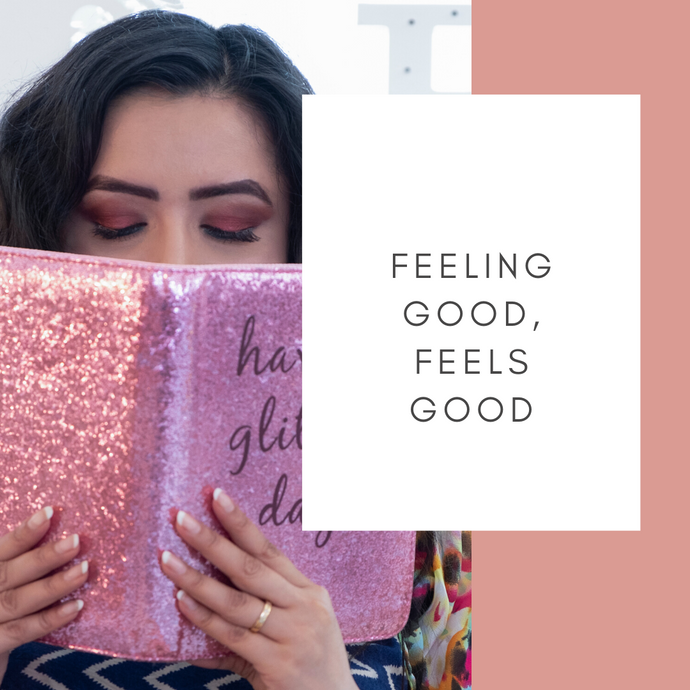 Feeling good is just as important as looking good. Happiness planners and more.
