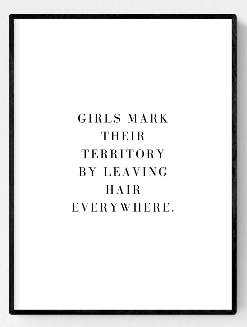 Territory Artwork Poster Print A3/A4/Download - Miss Beaut