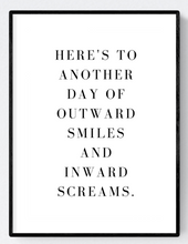 Typical Day Office Artwork Poster Print A3/A4 Download - Miss Beaut
