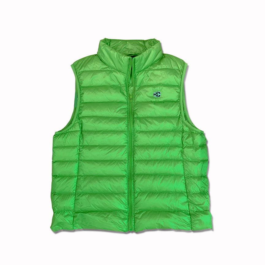 Puffy Vest LIME Green