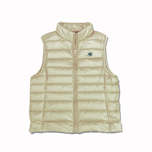 Puffy Vest OYSTER WHITE