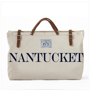 NANTUCKET CANVAS TOTE