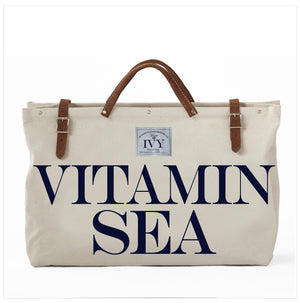 VITAMIN SEAS CANVAS TOTE