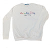 Seas the Day Crewneck White