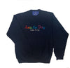Seas the Day Crewneck Navy