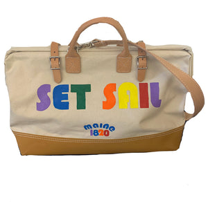 Set Sail Canvas Tote