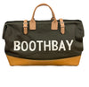 Dark Green Boothbay Canvas Tote
