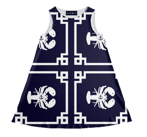 "The ""WALDORF"" Yacht Dress"
