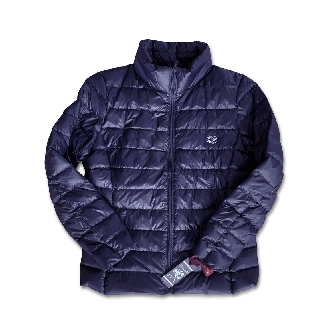 IVY Puffy Jacket NAVY