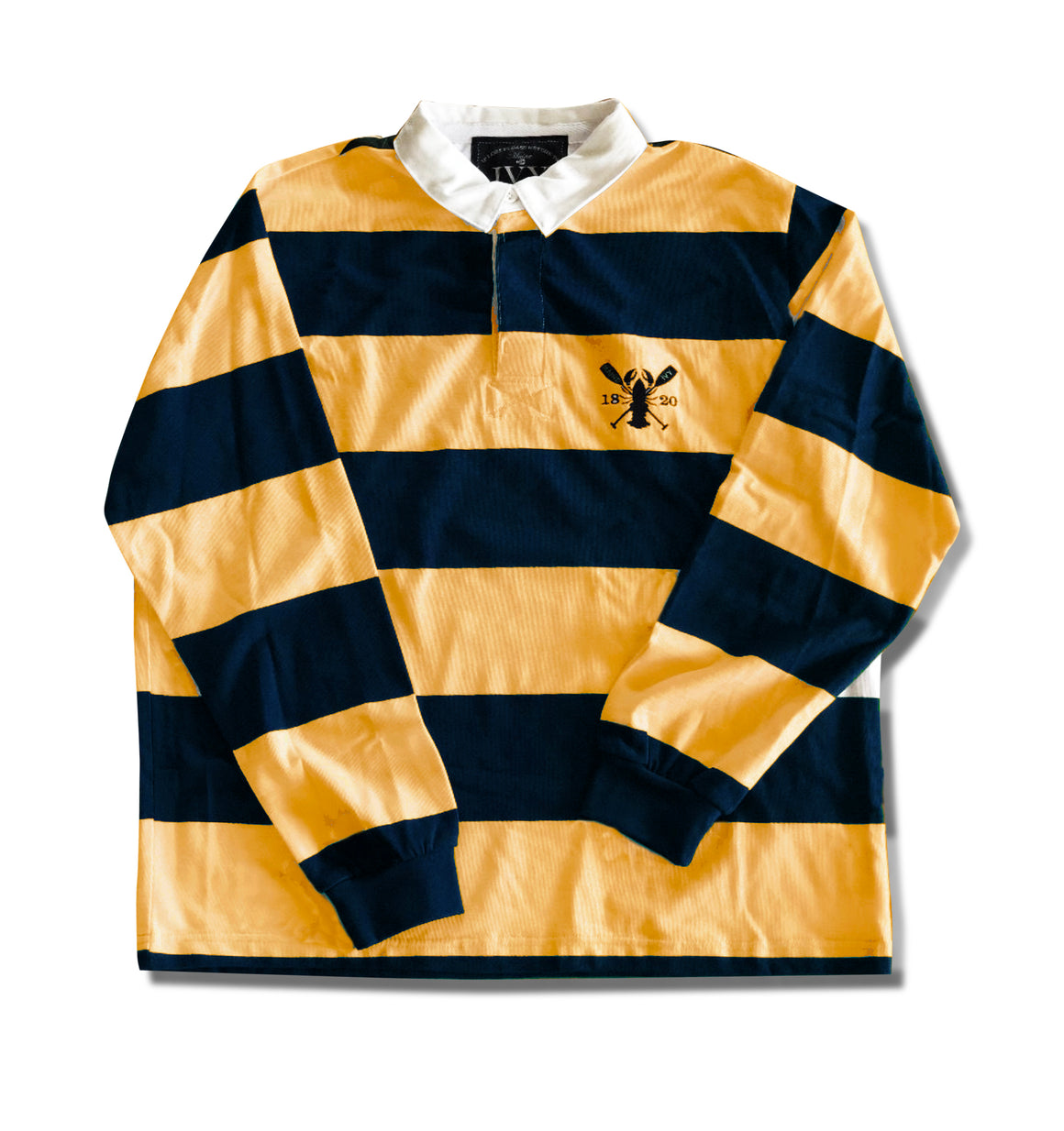 "IVY ""RUGBY""  Yellow & Navy"