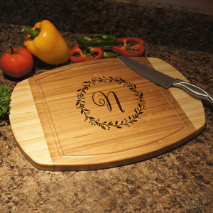 Personalized Cutting Board with Monogram Design Options & Font Selection (Each) - Design's the Limit