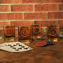 Old Fashioned Personalized Shooter Glass with Engraved Monogram Design Options & Font Selection (Each - Three Ounce Engraved Shot Glass) - Design's the Limit