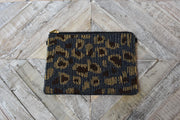 Look at Me Leopard Beaded Clutch
