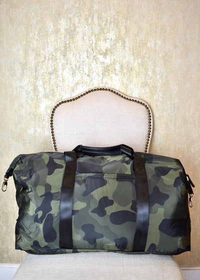 I Can Love You Camo Duffle Bag