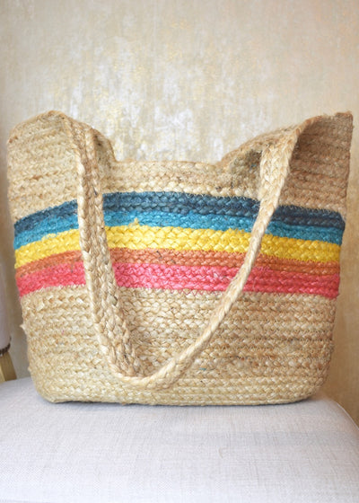 Island In The Sun Rainbow Beach Bag
