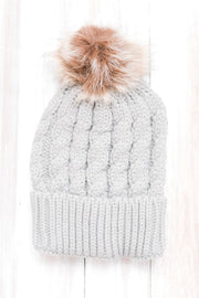 Baby Its Cold Outside Pompom Hat