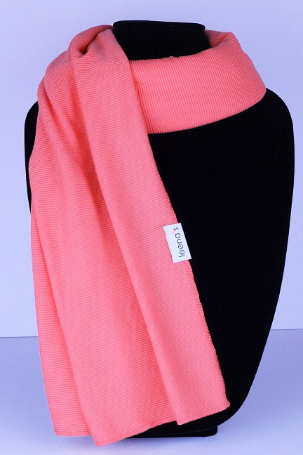 Casual Collection: Coral Ribbed Jersey - leenashijabs