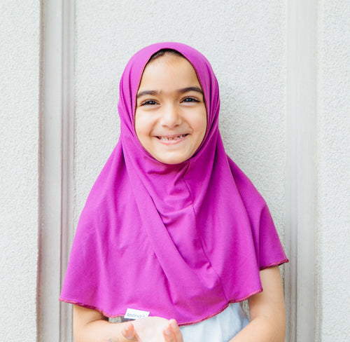 Casual Collection: Purple Bamboo Jersey - leenashijabs