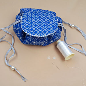 How to: Make the Japanese Sashiko Circle Bag