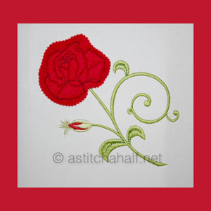 How To  Make: The Snips n Bits Applique Rose