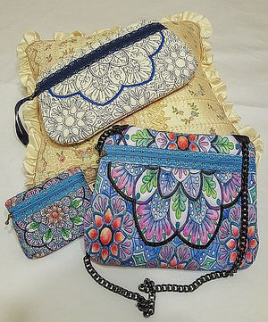 Project by Marrilyn using the Winter Charm Clutch Purses