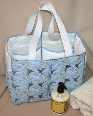 Into Spring Tote Bag - a-stitch-a-half