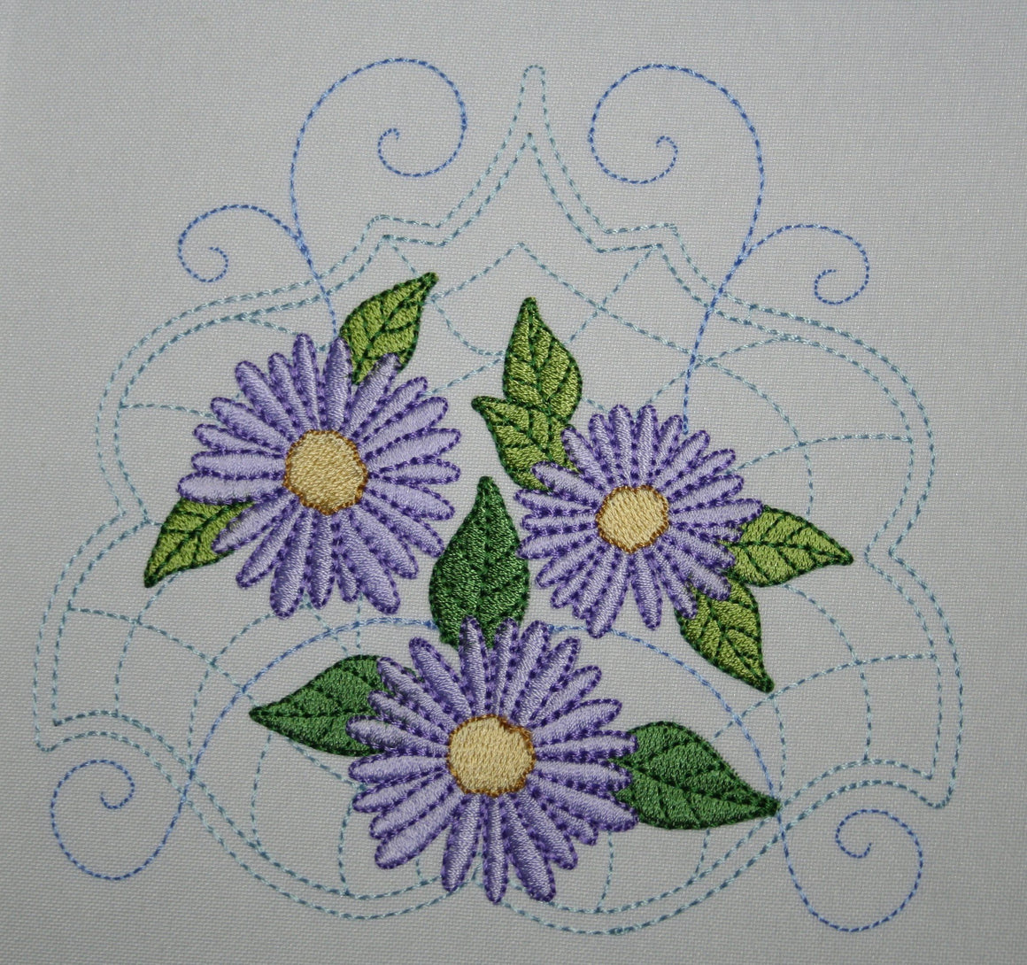 Quilt with Daisies Combo