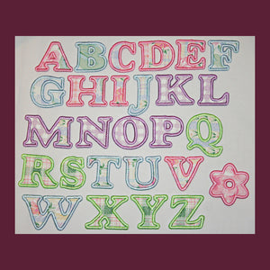 Playpen Alphabet - a-stitch-a-half