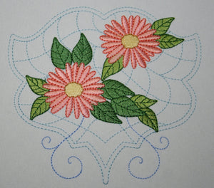 Quilt with Daisies Combo - a-stitch-a-half