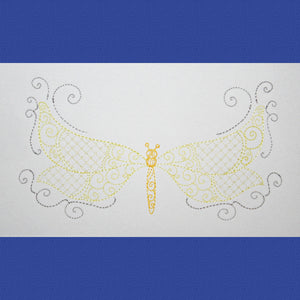 Soft and Lacy Wings - a-stitch-a-half