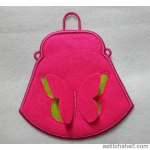 3D Butterfly Purse - a-stitch-a-half