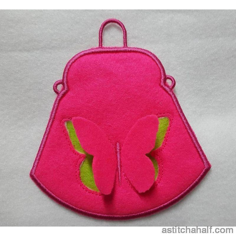 3D Butterfly Purse - astitchahalf
