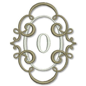 Breath of Spring Monogram Combo for 4*4 hoop - a-stitch-a-half