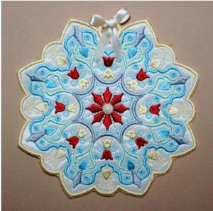Antique Snowflake 03 - a-stitch-a-half