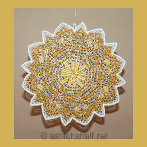 Antique Snowflake 02