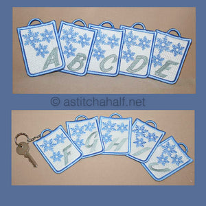 Snowflake Key Tags
