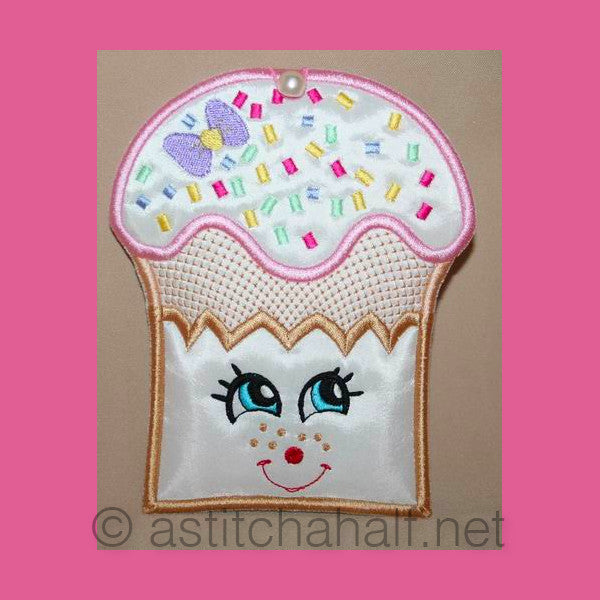 Cupcake Freckles Coin Purse