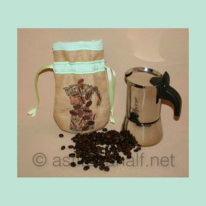 Drawstring Coffee Bag 02