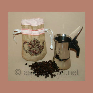 Drawstring Coffee Bag 04