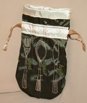 Cutlery Drawstring Bag - a-stitch-a-half