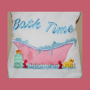 Bath Time Drawstring Bag