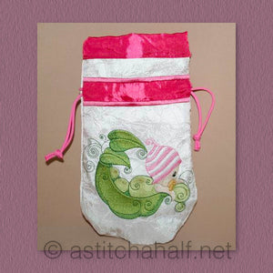 Curious Baby Bubbles Drawstring Bag
