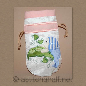 Baby Bubbles First Steps Drawstring Bag