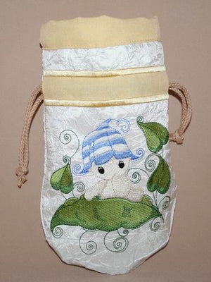 Baby Bubbles Sitting Drawstring Bag