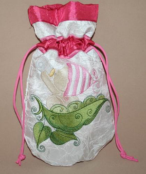 Baby Bubbles Drinking Bottle Drawstring Bag