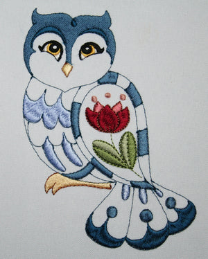 Orlando the Owl - a-stitch-a-half