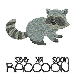 See ya soon Raccoon - a-stitch-a-half